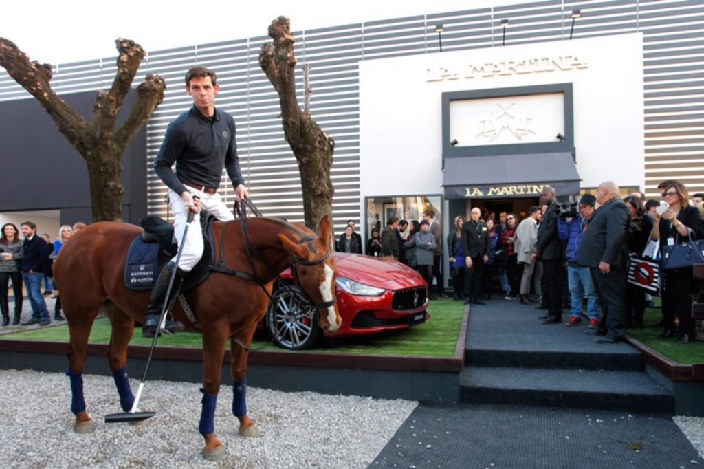 Pitti Uomo, La Martina/Maserati, evento co-brand