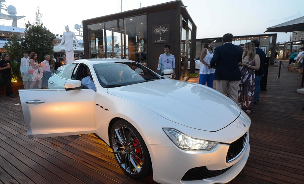 Porto Cervo - evento co-brand Maserati/deGrisogono