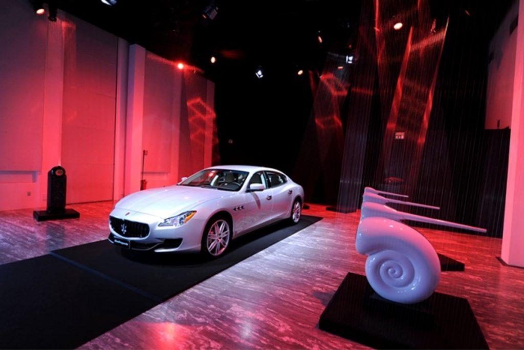 Milano, Triennale - presentazione Quattroporte in mediapartnership Condé Nast
